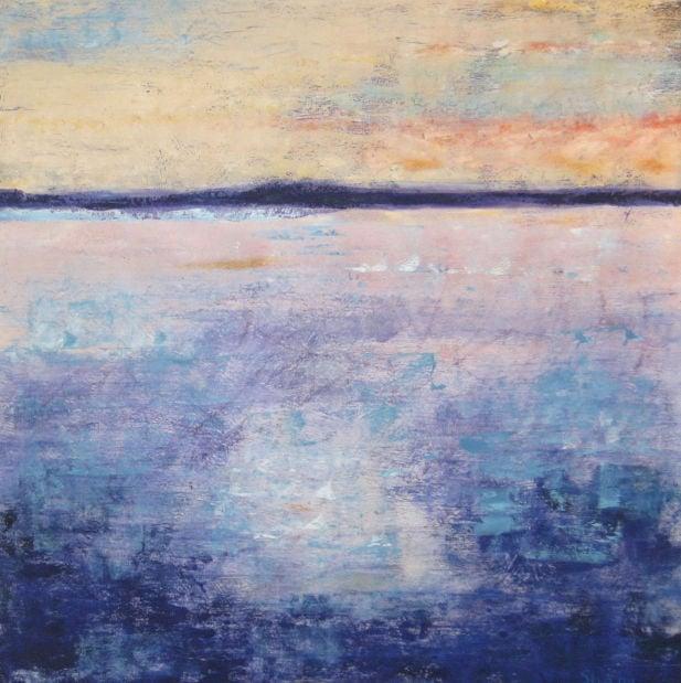 Island, oil on canvas
