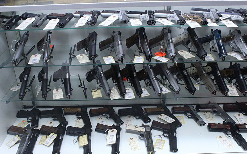 Gun sales in Arizona rose to record levels in 2020