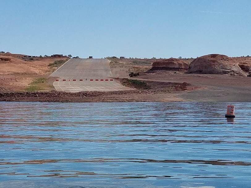 Lake Powell boat ramps