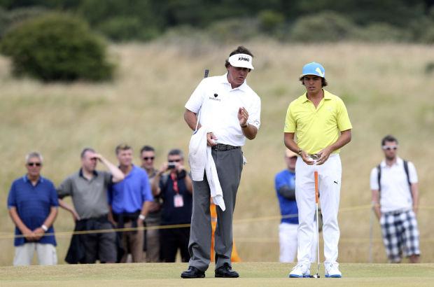 British Open: Suddenly, Mickelsonbig fan of links golf
