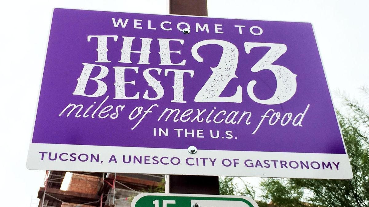 'The best 23 miles of Mexican food in US'