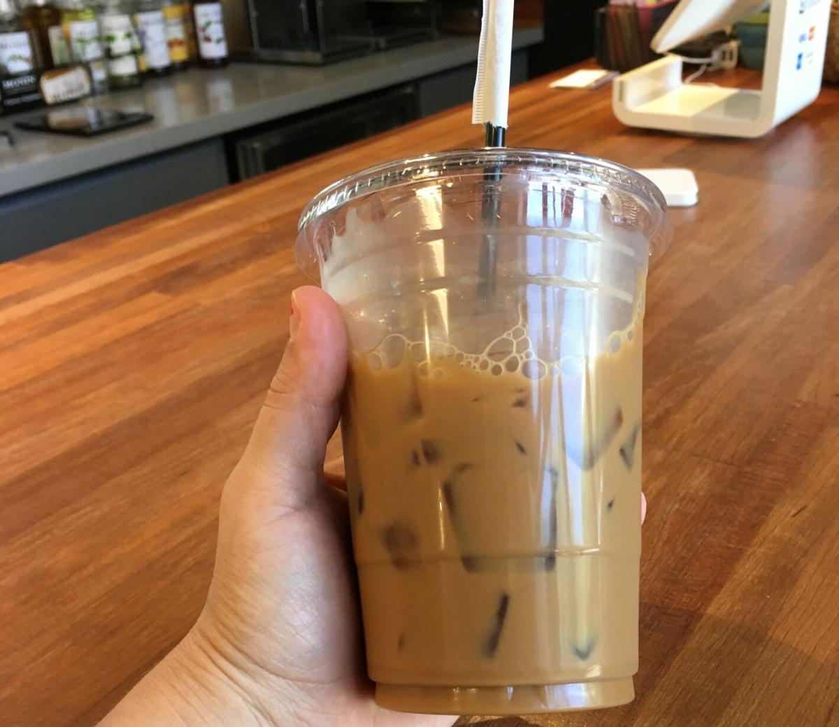 Final Product - Vietnamese coffee at Eleven cafe