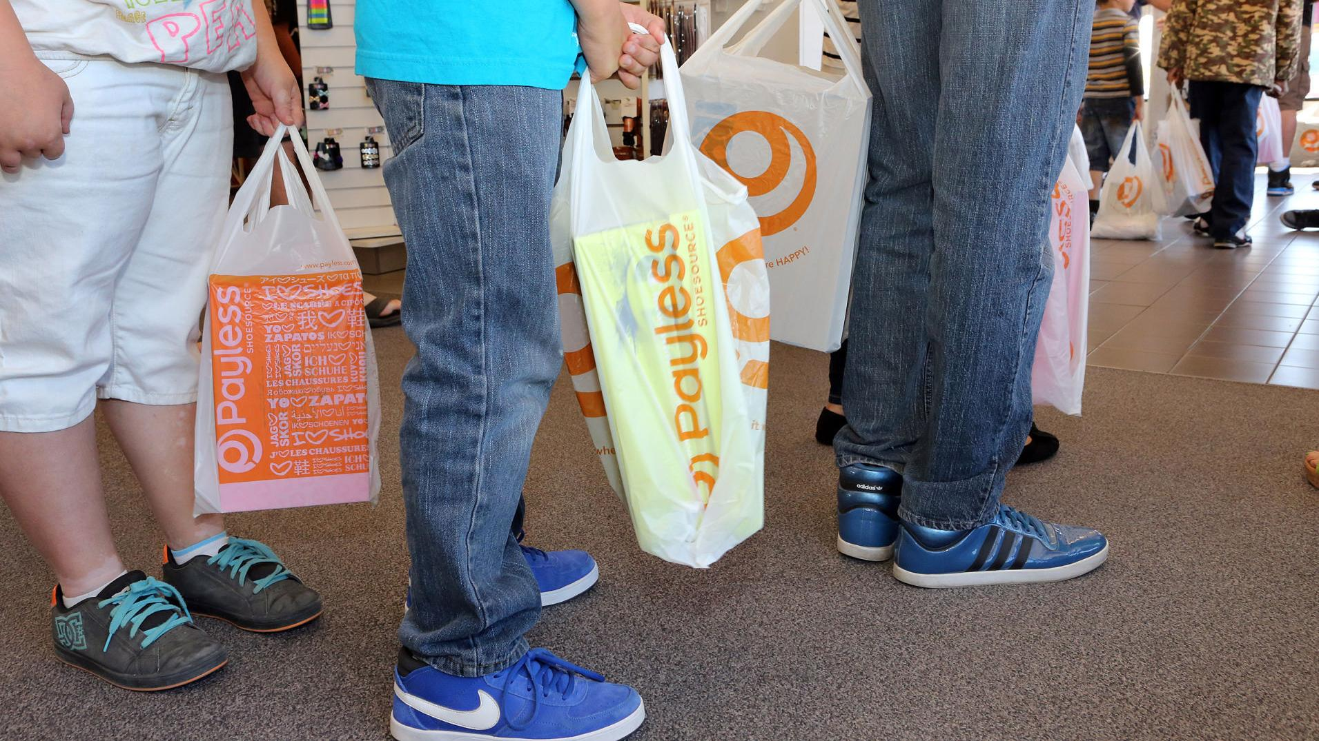 One Tucson Payless Shoe Closing
