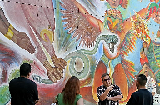 Tucson artist's Latino-themed work gains first show inside familiar space