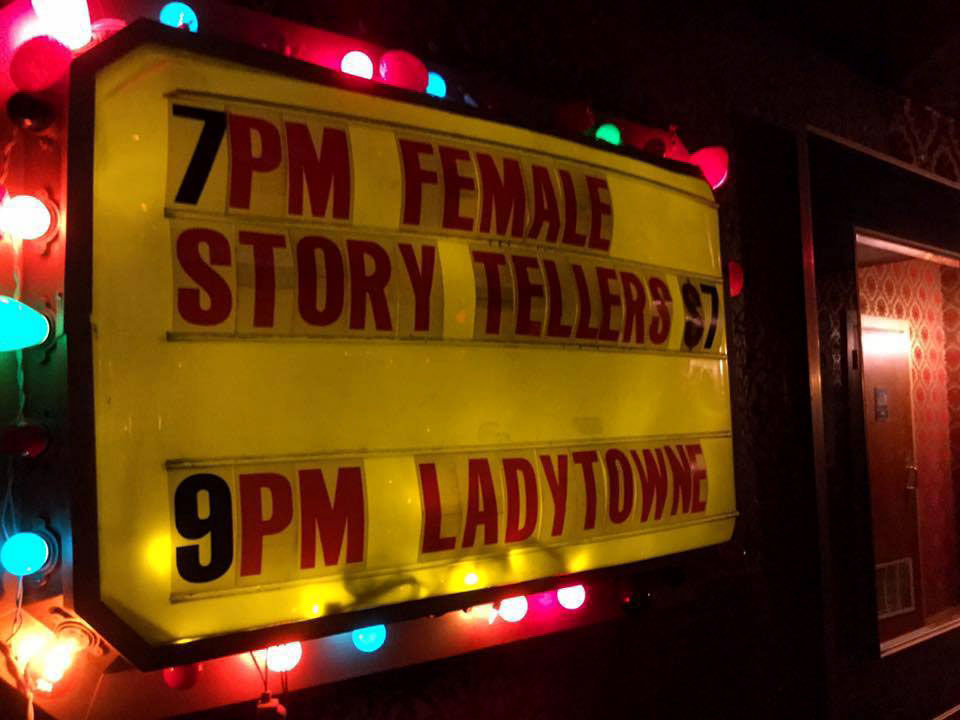 Ladytowne marquee