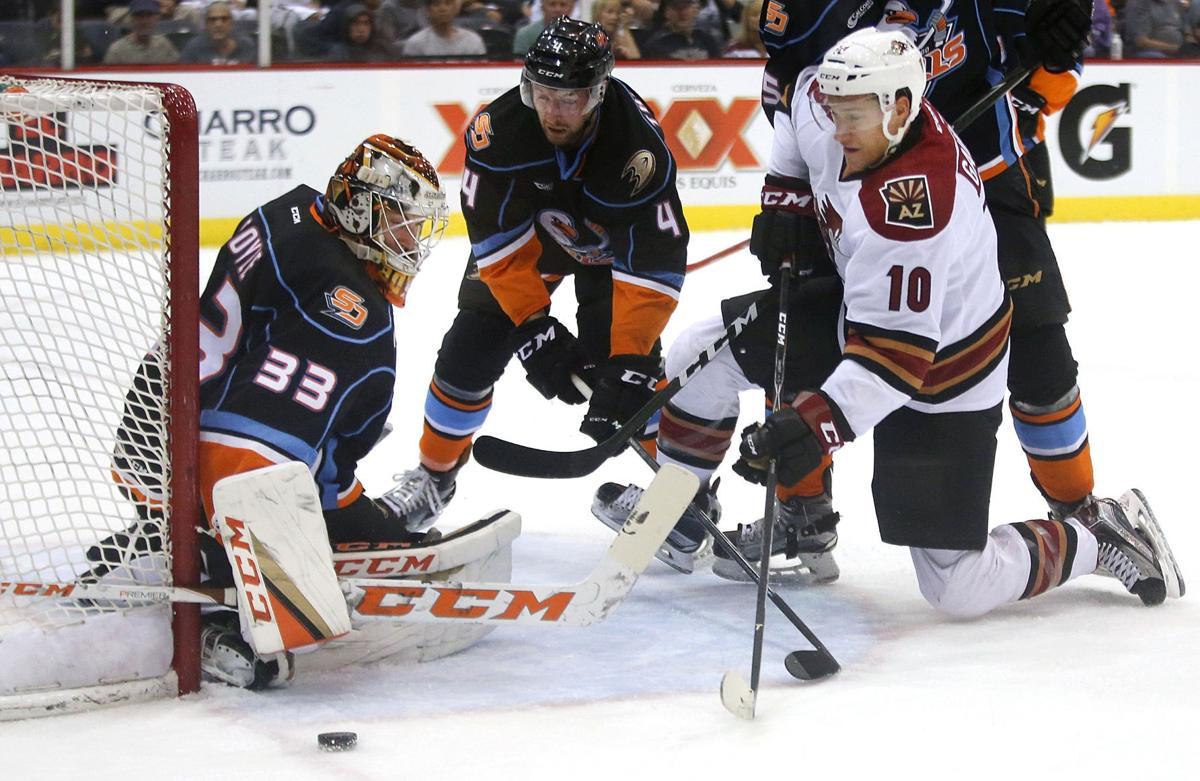Tucson Roadrunners vs. San Diego Gulls AHL hockey