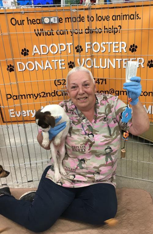 Work with pet rescue organization gets volunteer belled