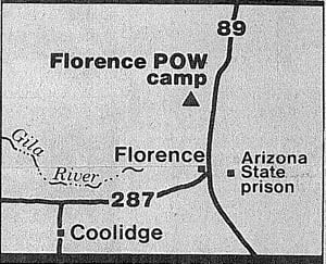 Florence's prisoner of war camp