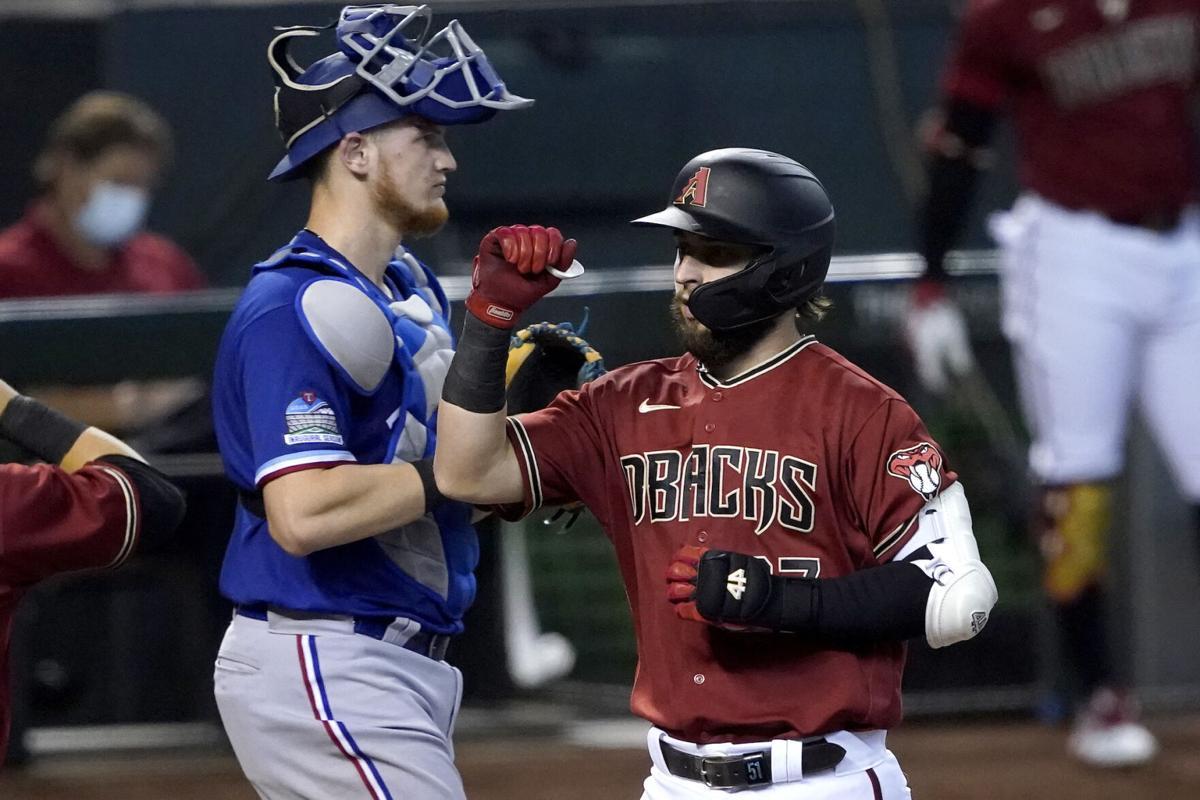 Rangers Diamondbacks Baseball
