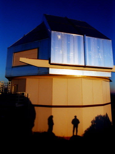 The WIYN Telescope at sunset