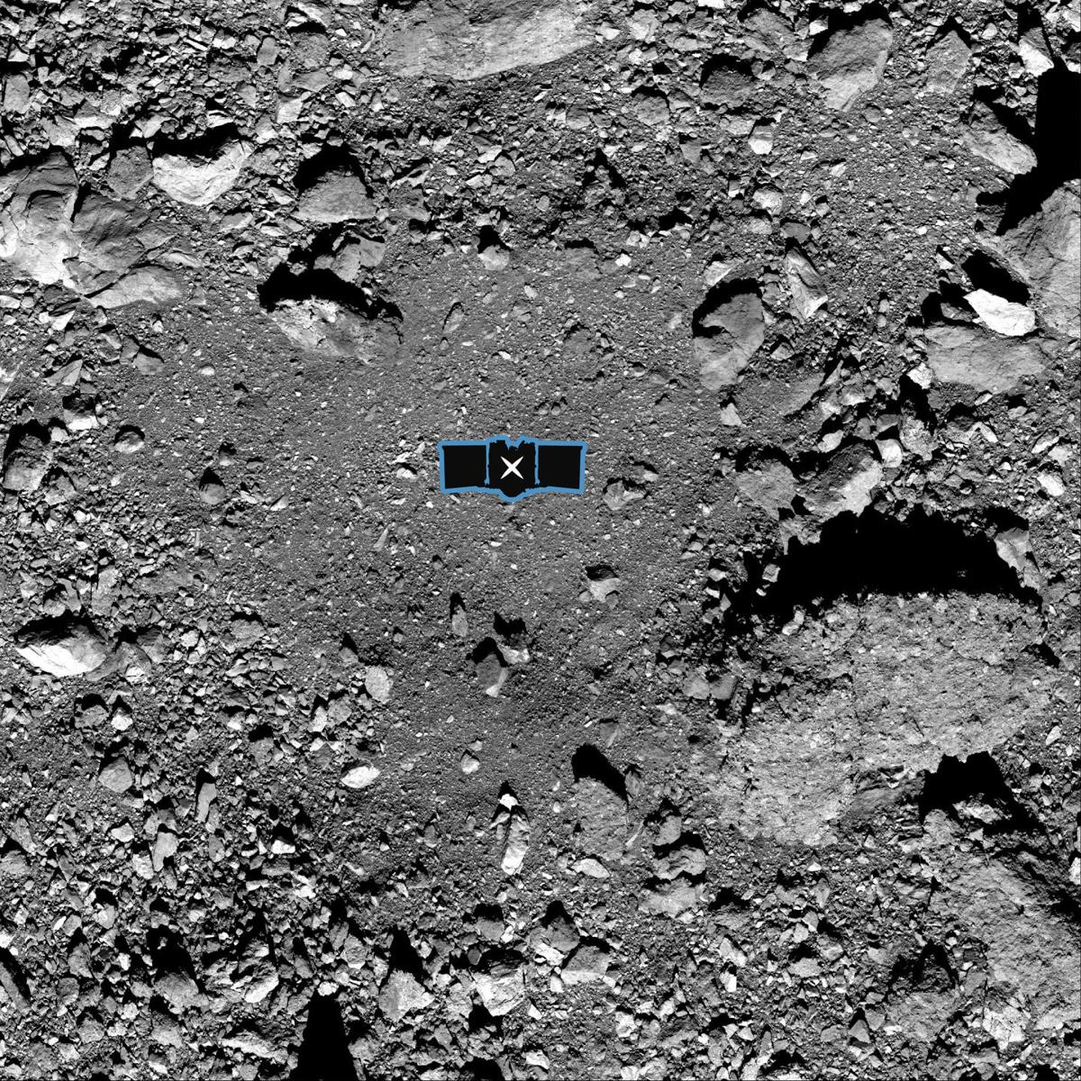 OSIRIS-REx sample site