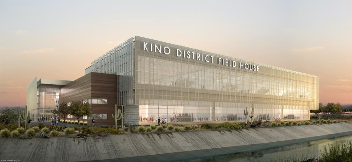 Kino District field house rendering