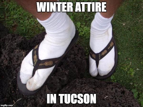 23 memes that sum up 'winter' in Tucson | Entertainment