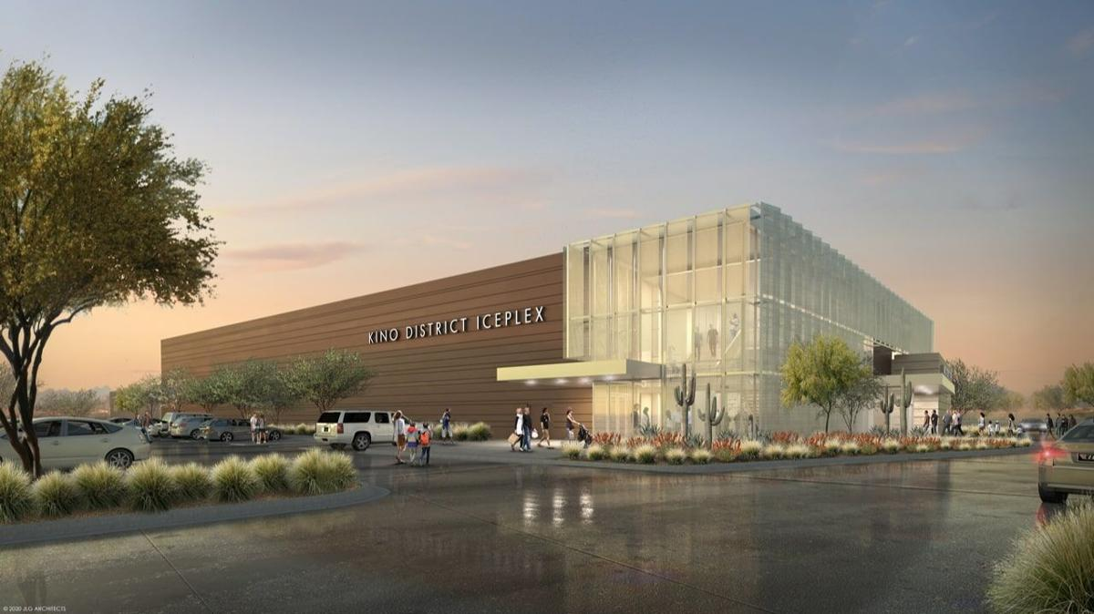 Kino District Ice Plex rendering