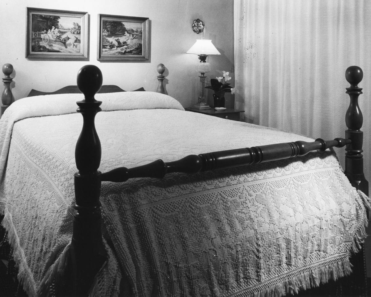 1962 photos: Antiques furnish home in Early American style