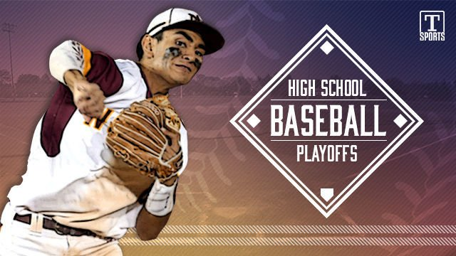 NEW high school baseball playoffs logo