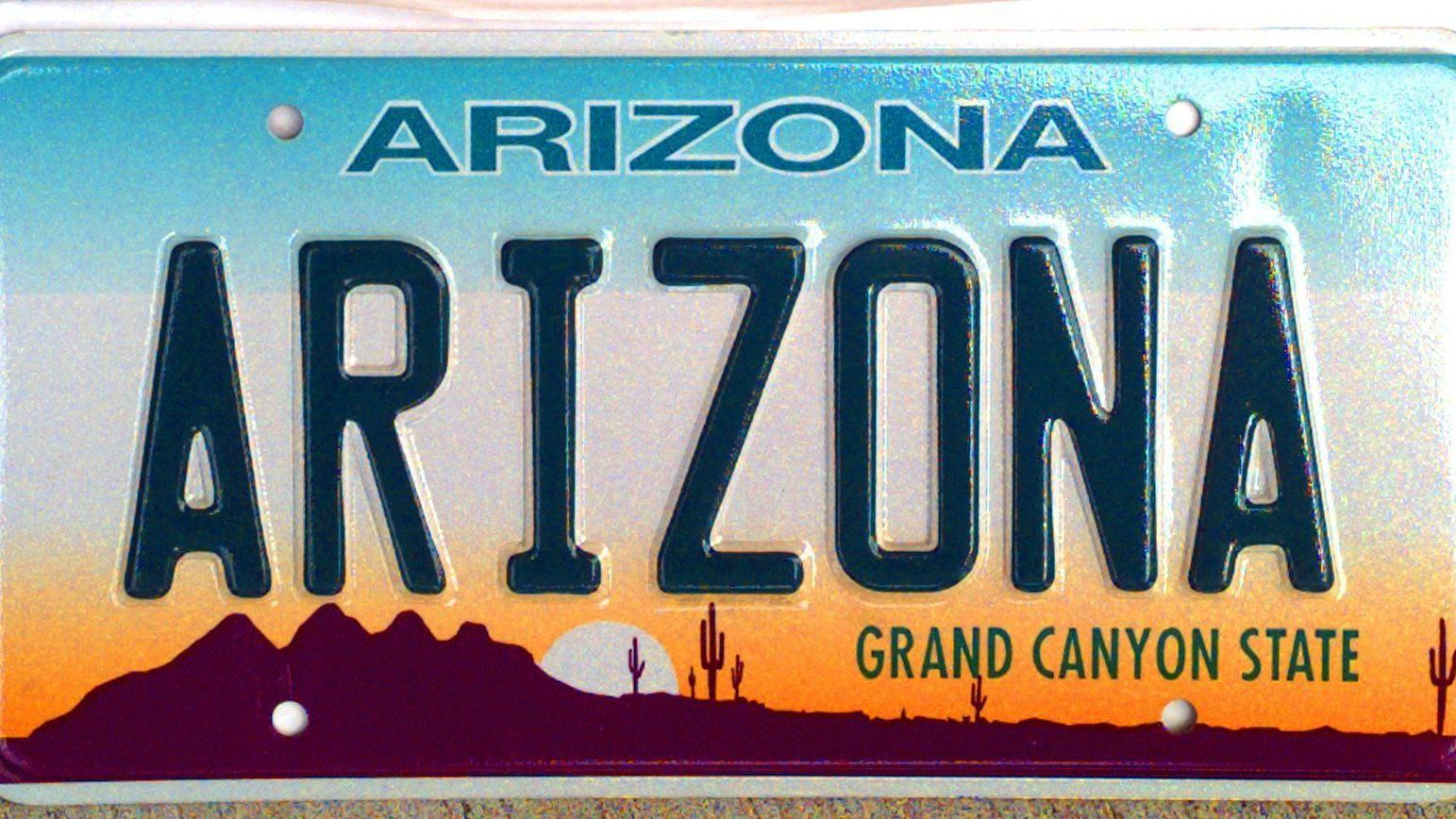 Find License Plate Owner >> Arizona outlaws plastic covers, films that obscure license plates | Local news | tucson.com