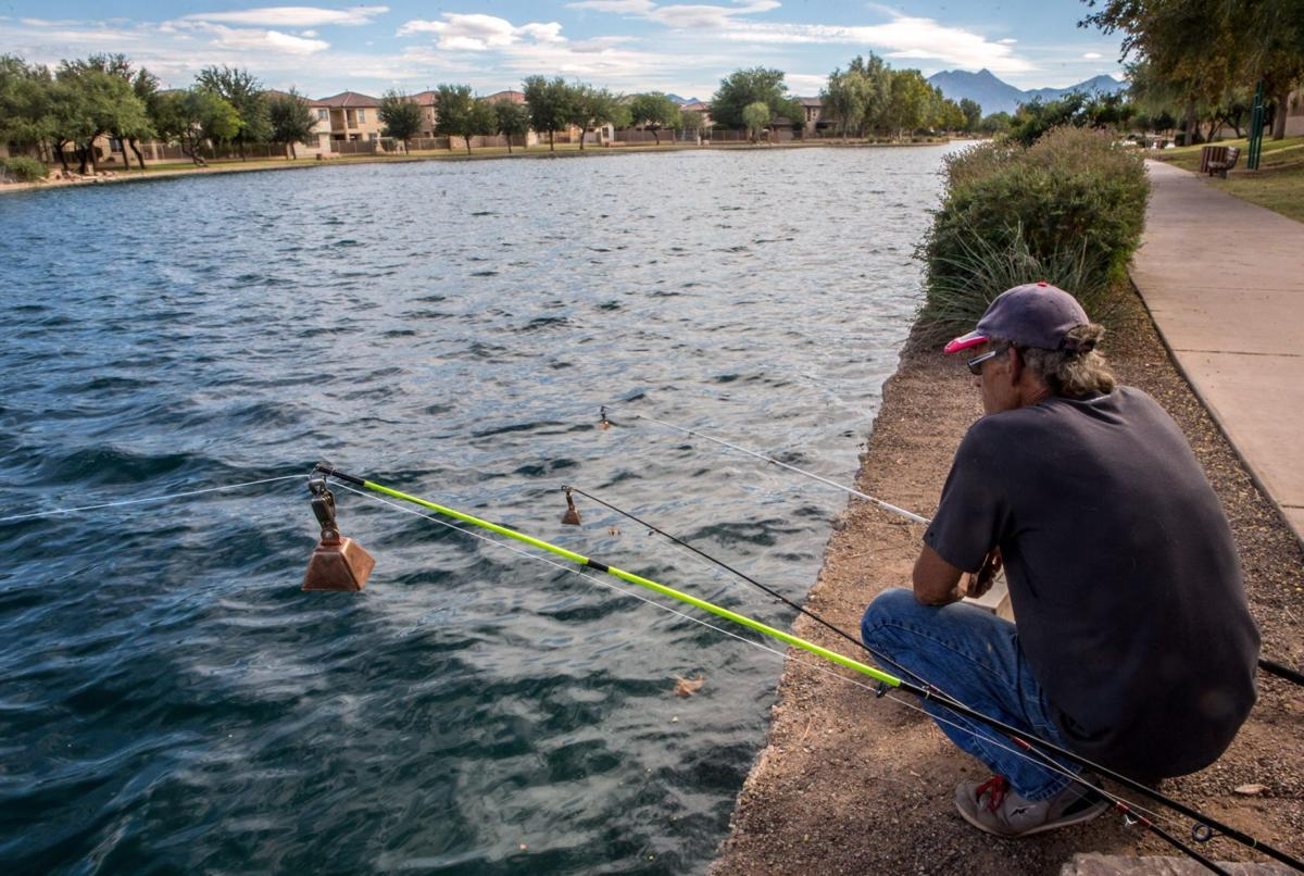 Sahuarita Lake Fishing