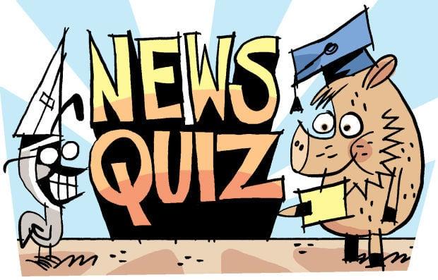 Fitz blog Art: News Quiz