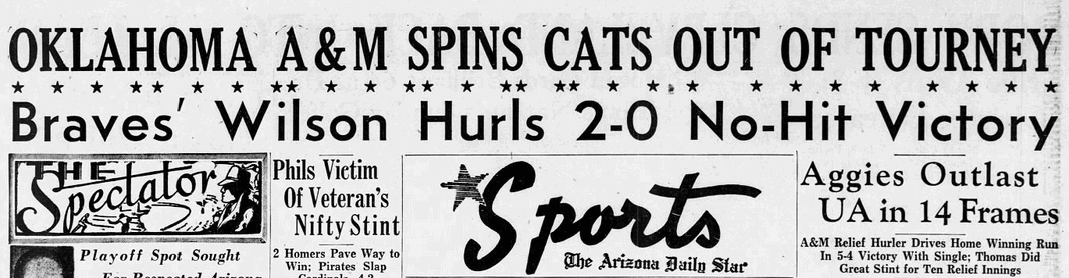 Arizona in the 1954 College World Series