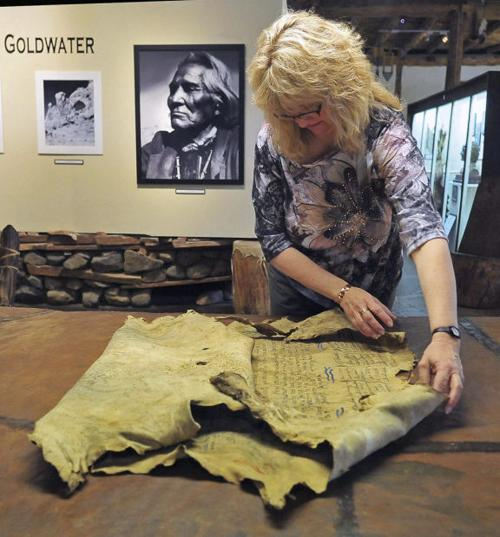 Old deerskin artifact now back at Prescott museum