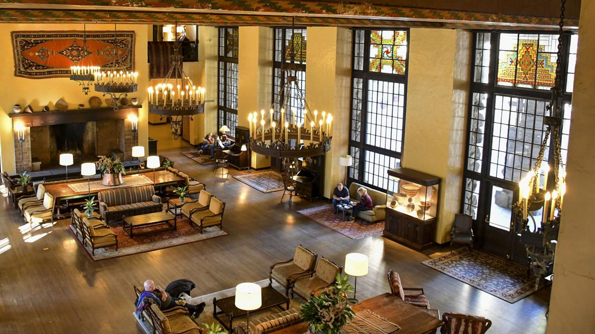 Ahwahnee Hotel, Yosemite National Park.