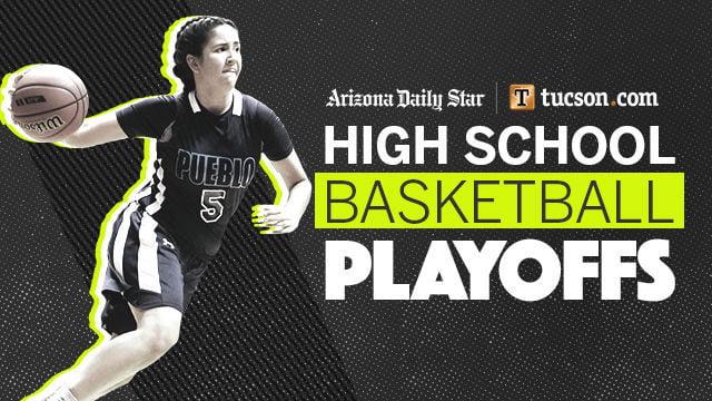 NEW high school girls basketball playoffs logo