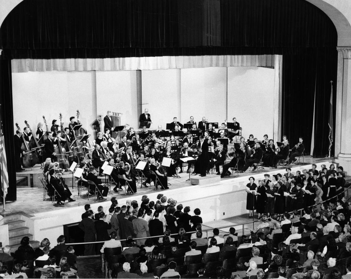 Frederic Balazs and Tucson Symphony Orchestra in 1952
