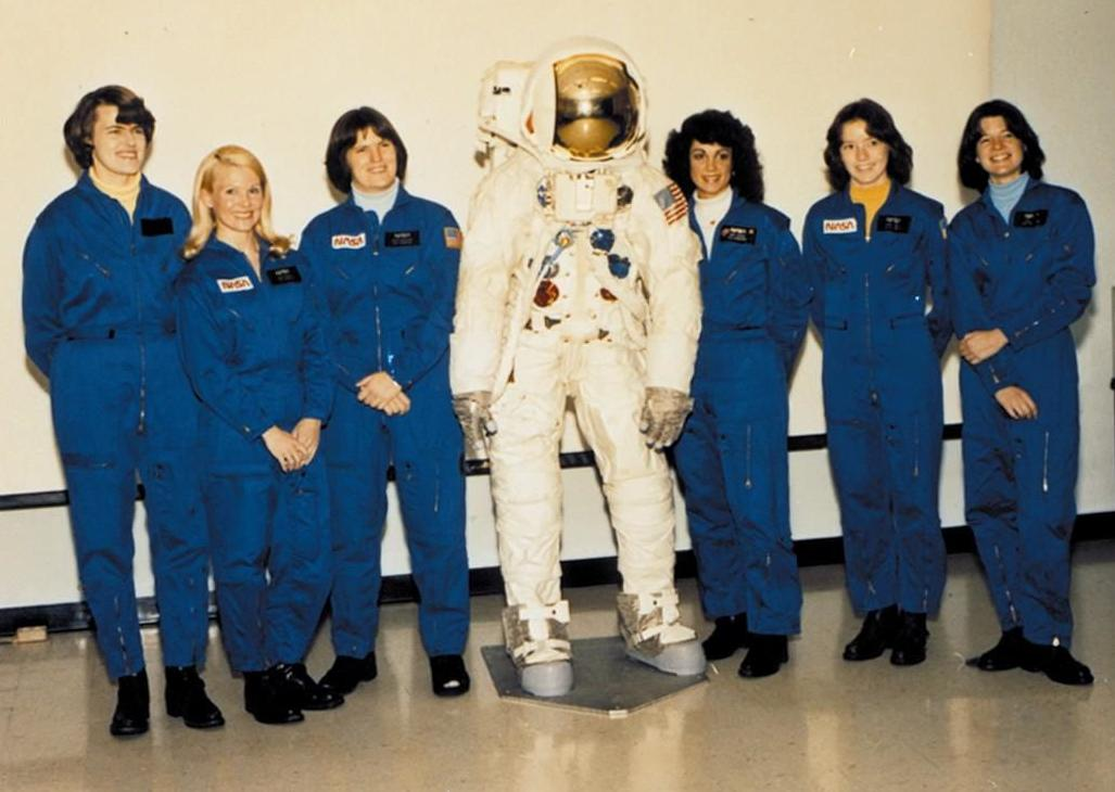 First ladies of space