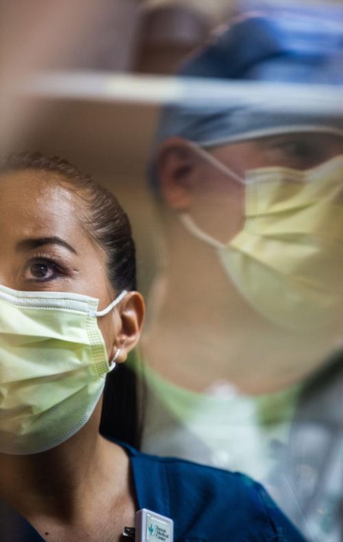 Tucson Medical Center, coronavirus drill