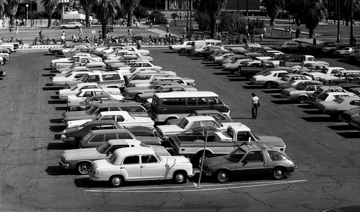 A recollection of parking woes at the University of Arizona