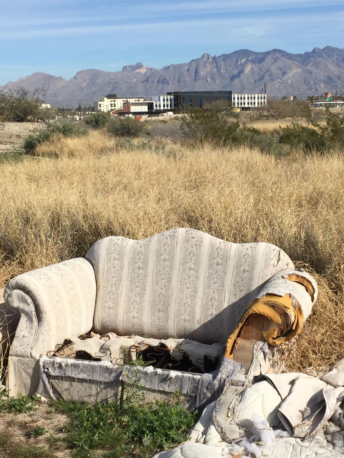 A Mountain landfill