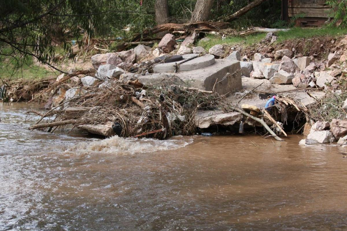 Raw Sewage Pours Into Nogales Wash After Pipe Break