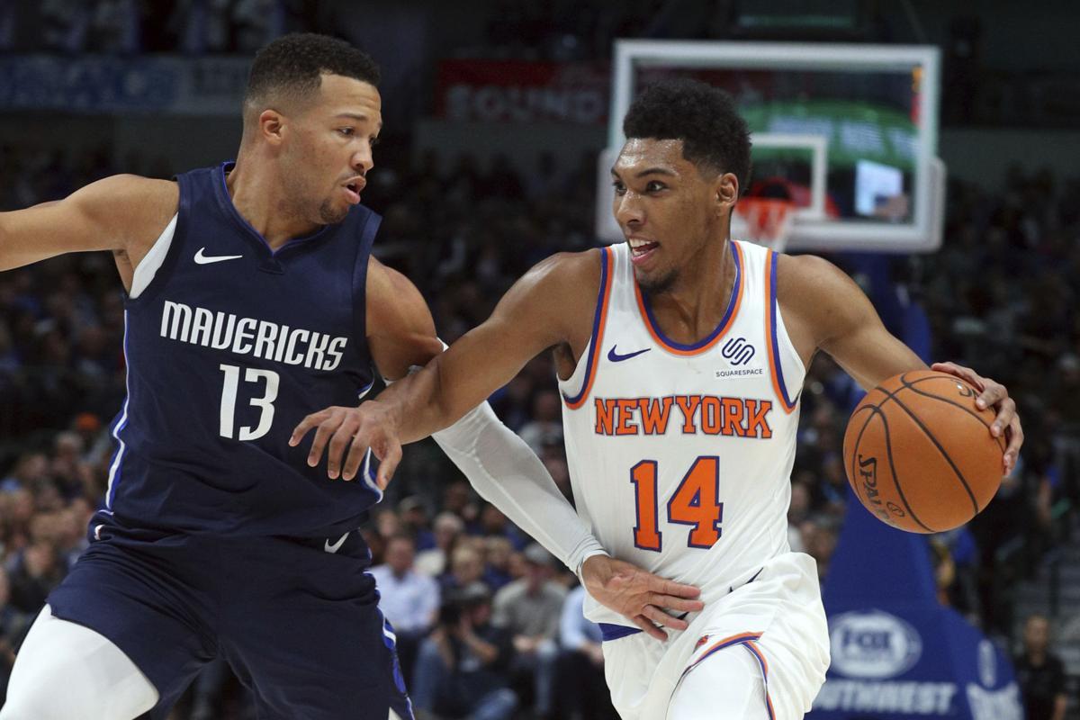 Knicks Mavericks Basketball