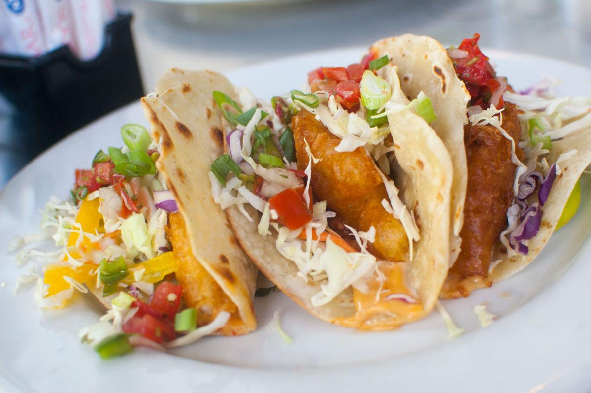 Fish tacos at Hotel Congress