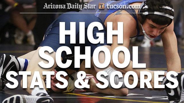 High school stats logo — wrestling