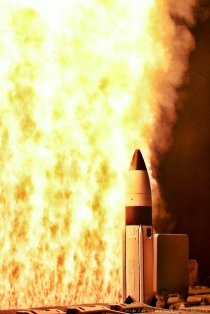Raytheon interceptor hits mark in key test of missile shield