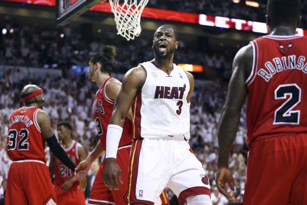 NBA: Pacers at Heat, Game 1: Wade, Miami ready for upstart Indiana