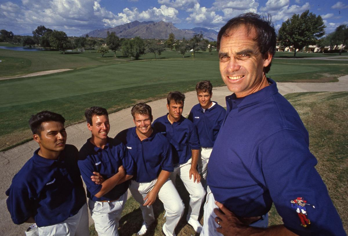 The top 10 UA men's golfers of all time