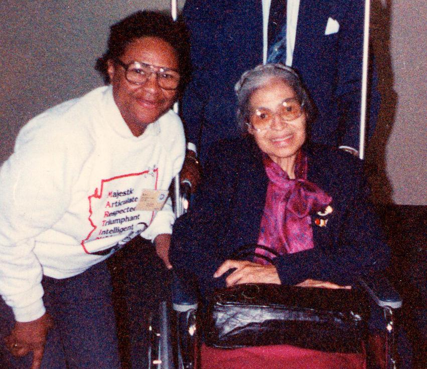Betty Liggins, Rosa Parks