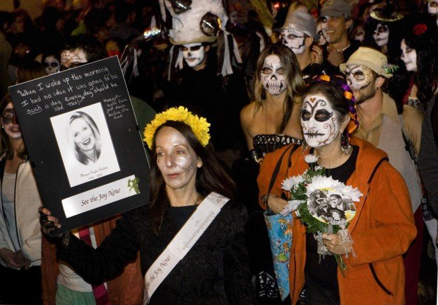In next week's Caliente A shorter All Souls Procession ...