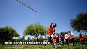 Watch Now: Middle school students at The Gregory School participate in Rome Day
