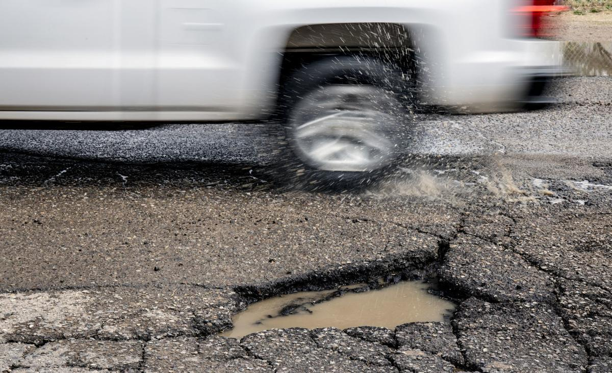 Potholes in Tucson
