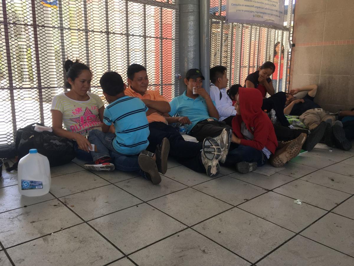 Asylum seekers in Nogales