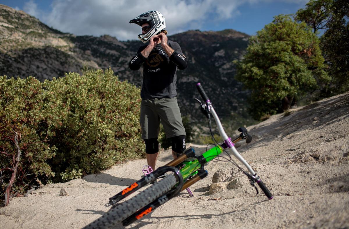 Mt. Lemmon, mountain biking