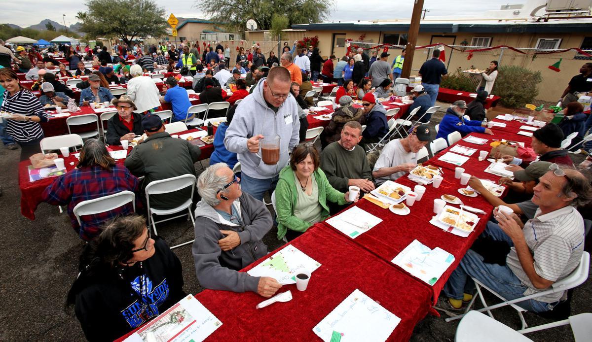 Christmas Dinner Tucson 2020 Gospel Rescue Mission hosting community Christmas dinner on