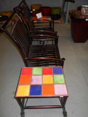 lawn art side view double rocker and table.JPG