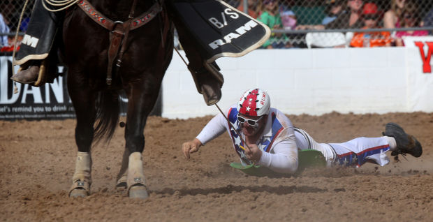 Rodeo Clown Rumford Brings Smiles To Crowds And Gets
