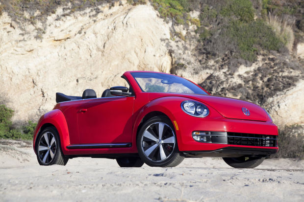 New Beetle ragtop gets a little less cuddly