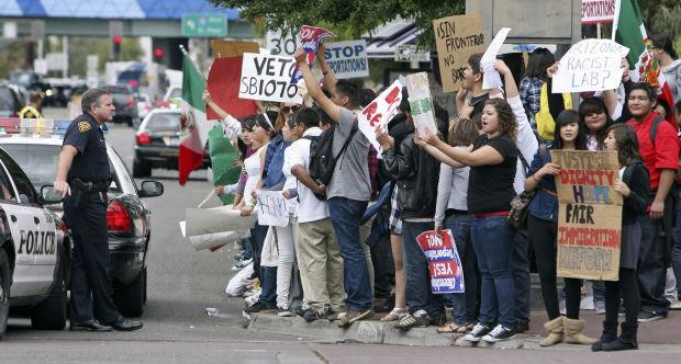 SB 1070: Tucson protest